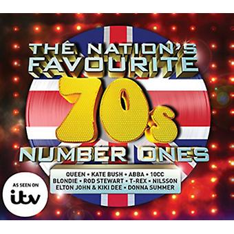 Nation's Favourite 70's Number Ones by Various Artists