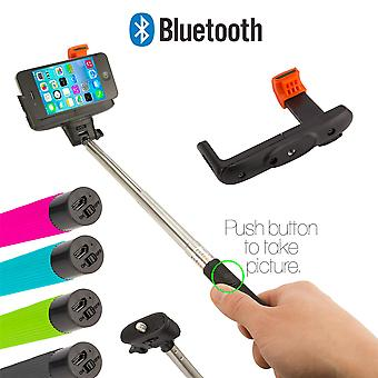 Selfie stick with Bluetooth connection - Black