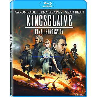 Final Fantasy: Importação EUA Kingsglaive [Blu-ray]