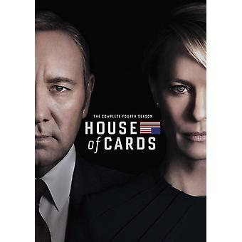 House of Cards: Season 04 [DVD] USA import