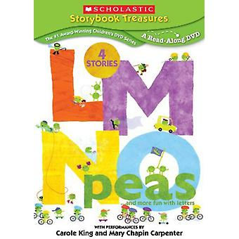 Lmnopeas & More Fun with Letters [DVD] USA import
