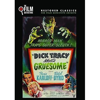 Dick Tracy Meets Gruesome [DVD] USA import