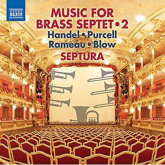 Haendel / Septura - musique pour septuor de cuivres 2 [CD] USA import
