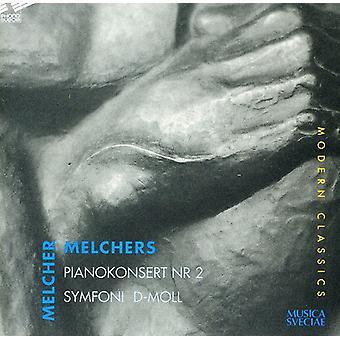 Melchers, H, Melcher - Melcher Melchers: Pianokonsert Nr. 2; Symfoni D-Moll [CD] USA importerer