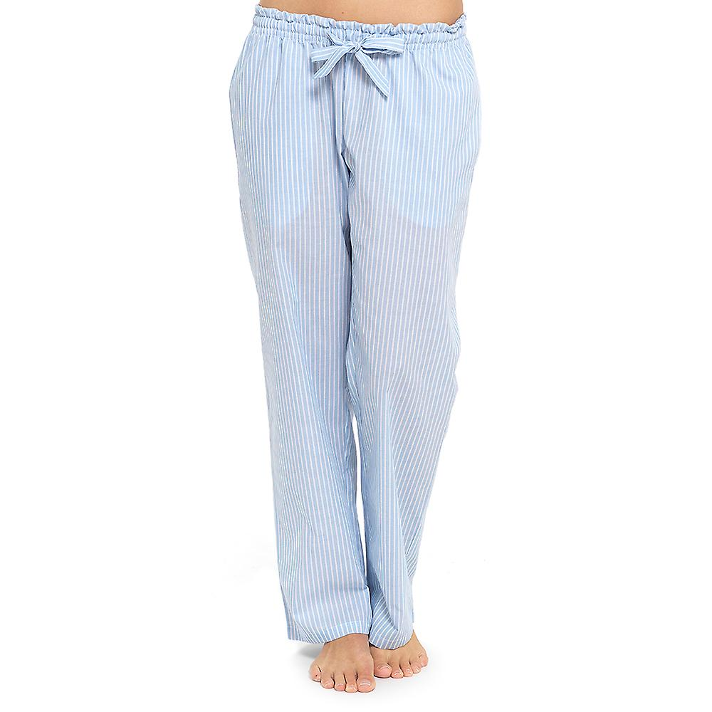 aaf04dd4 Dame Foxbury Polycotton sommeren trykt pyjamas bukser bunden Lounge slid  bukser