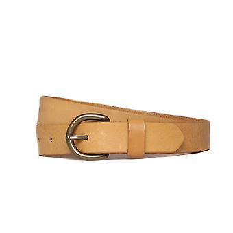 Edwin Noble Grained Leather Sand Belt