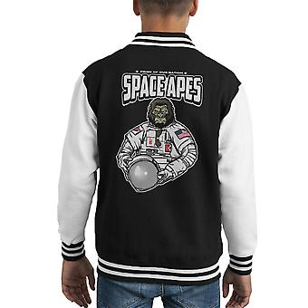 Space Apes Kid's Varsity Jacket