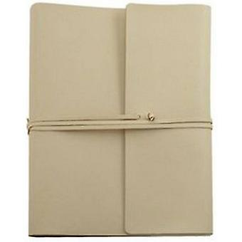 Coles Pen Company Saffiano Extra Large Leather Photo Album - Ivory