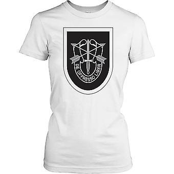 Ladies t-shirt DTG Print - oss Special Forces - De Oppresso Liber-