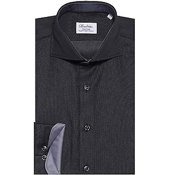 Stenstroms Fitted Micro Patterned Shirt
