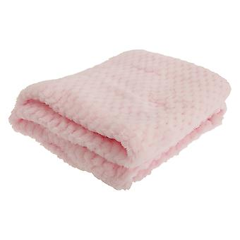 Baby Boys/Girls Supersoft Waffle Textured Blanket