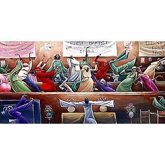 Première Baptist Choir Poster Print par Frank Morrison (34 x 18)
