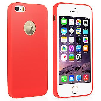 Iphone 5/5S Ultra Thin Gel - New Solid Red Case