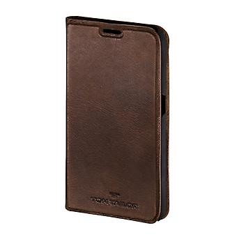 Tom Tailor Booklet Authentic Galaxy S5 Bruin