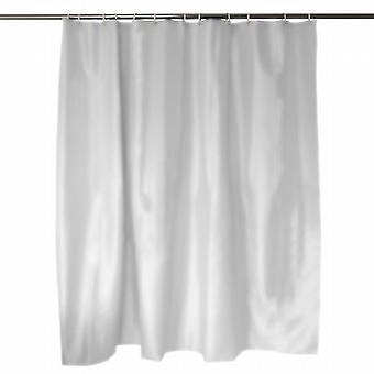 Caraselle Anti Bacterial White Shower Curtain 180 x 180 cm