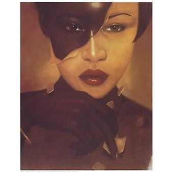 The Skin Im In Female (mini) Poster Print by Laurie Cooper (8 x 10)