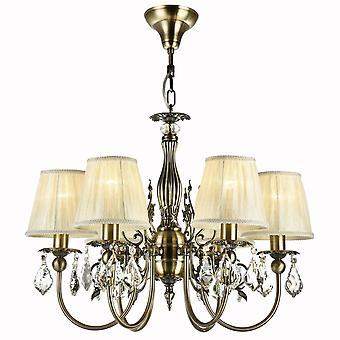 Maytoni Lighting Latona Royal Classic Collection Chandelier, Bronze