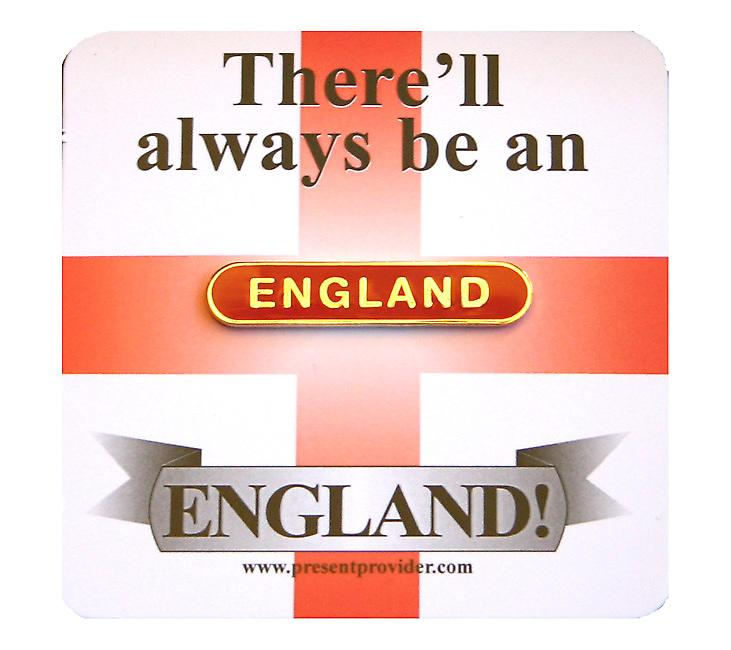 England Bar Badge - Support Your Country!