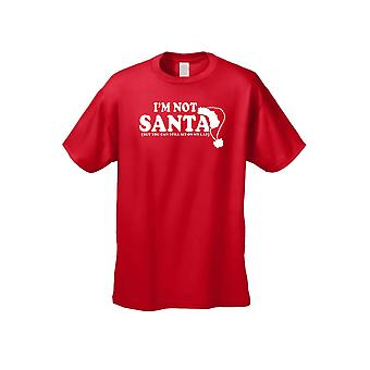 Unisex I'm Not Santa But You Can Sit On My Lap Short Sleeve T-shirt
