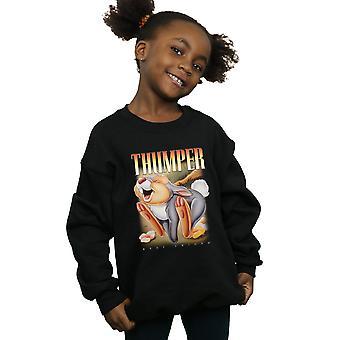 Disney Girls Bambi Thumper Montage Sweatshirt