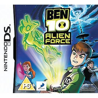 Ben 10 Alien Force (Nintendo DS) - Usine scellée