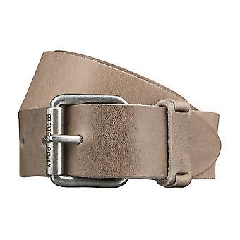 MUSTANG bælter mænds bælter læder bælte grå 3502