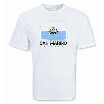 San Marino Fußball-T-Shirt