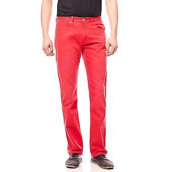 John devin men Jeans red length 32