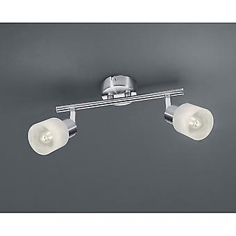Trio illuminazione Laval nichel moderna lampada da soffitto in metallo Matt