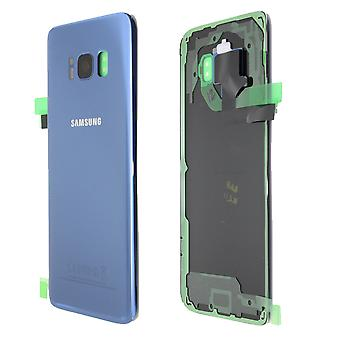 For Samsung Galaxy S8 - SM-G950 - Back Cover - Blue - Service Pack