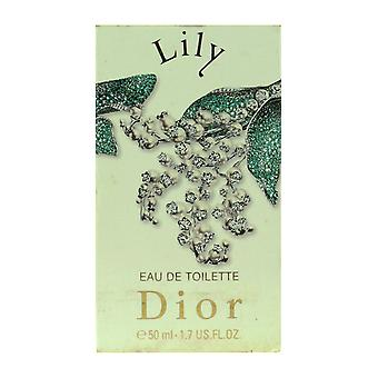 Dior Lily Eau De Parfum Spray 1.7 Oz/50 ml In vak (Vintage)