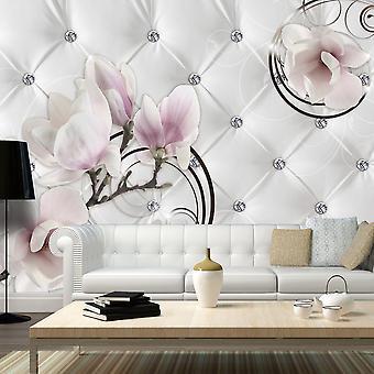 Behang - bloem luxe