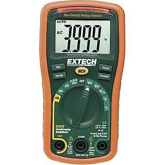 Extech EX330 Handheld multimeter Digital CAT III 600 V Display (counts): 4000