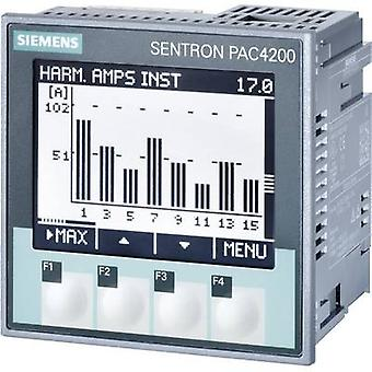 Digital rack-mount meter Siemens SENTRON PAC4200 Multifunctional measuring apparatus SENTRON PAC4200 Max. 3 x 690/400 V