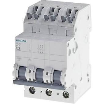 Siemens 5SJ63166KS Circuit breaker 3-pin 16 A