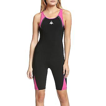 Aqua Sphere Womens Swimmimg nager un morceau Triathlon combinaison isothermique Costume - noir