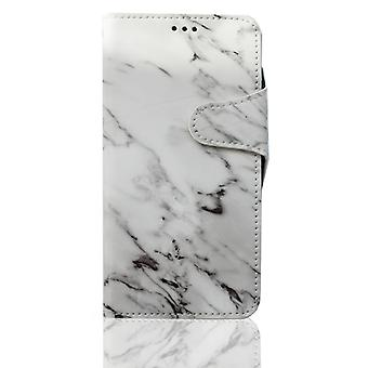 Wallet case marble - iPhone X/XS