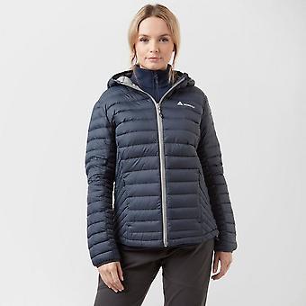 New Technicals Women's Long Sleeve Full Zip Swift Down Jacket Navy