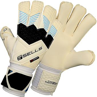 SELLS TOTAL CONTACT ELITE AQUA CAMPIONE JUNIOR Goalkeeper Gloves