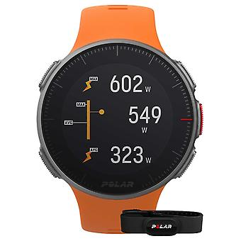 Polar Vantage V (with HR strap) GPS Multisport Orange Strap 90069666 Watch