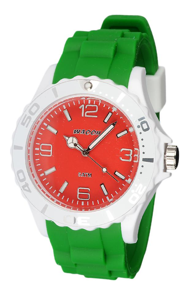 Waooh - Watch Silicone Tricolore Ritale MC42
