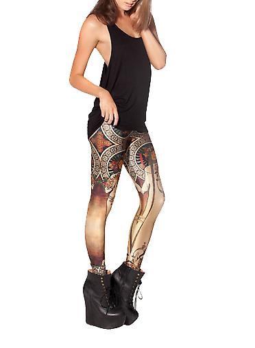 Waooh - Fashion - Mosaic Print Legging and female