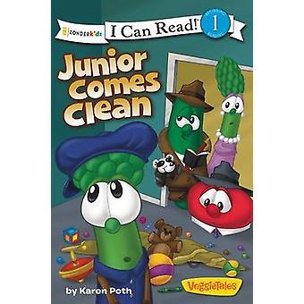 Junior Comes Clean / Veggietales / I Can Read! by Karen Poth - 978031