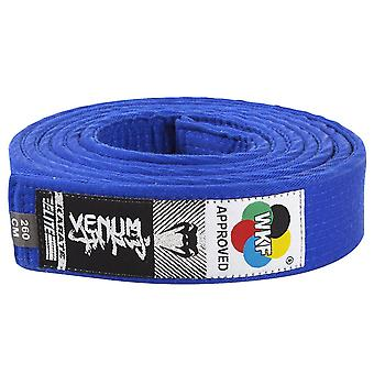 Venum WKF Approved Karate Belt Blue