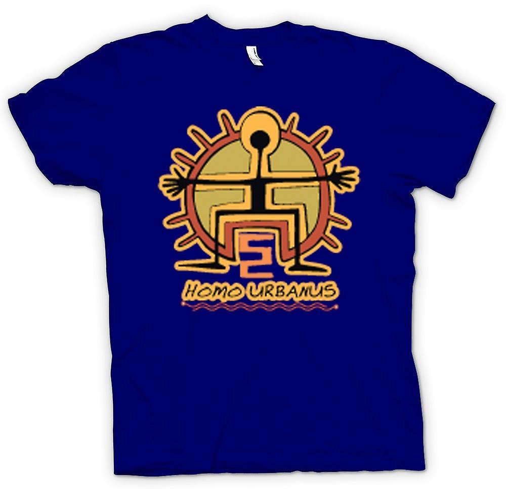 Herr T-shirt-Homo Urbanus grottman Design