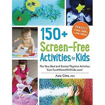 150 + skärm-fri verksamhet för barn - de allra bästa och lättaste Playt