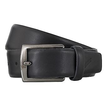 DANIEL HECHTER belts men's belts leather belt black 4855