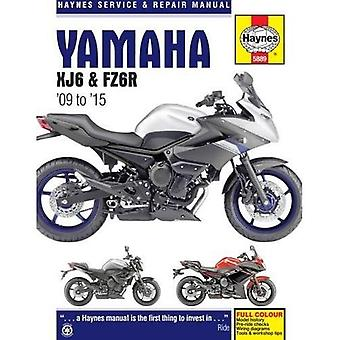 Yamaha XJ6 Service and Repair Manual 2009-2015