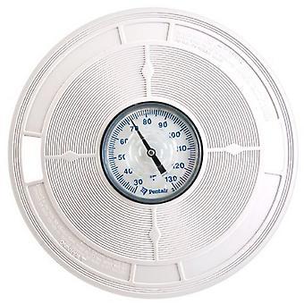 """Pentair L2 9,87 """"Skimmer lock med termometer - Vit"""