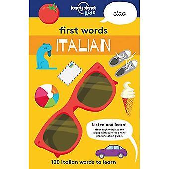 Premiers mots - italien: 100 mots italiens d'apprendre (Lonely Planet Kids)